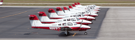 A small portion of our fleet of 42!